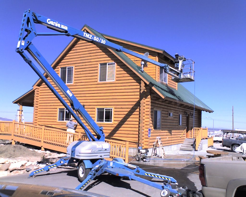 Color Country Boom Lift Color Country Painting